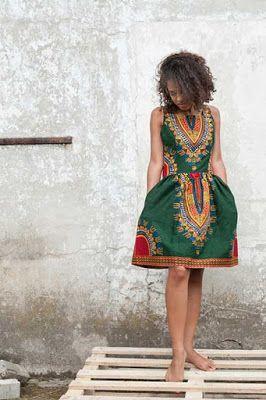 Elbise Modelleri: Dashiki Elbise Modelleri