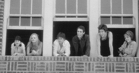 Still of Jessica Alba, Marley Shelton, James Franco, Jeremy Jordan, Jordan Ladd and Branden Williams in Never Been Kissed (1999)