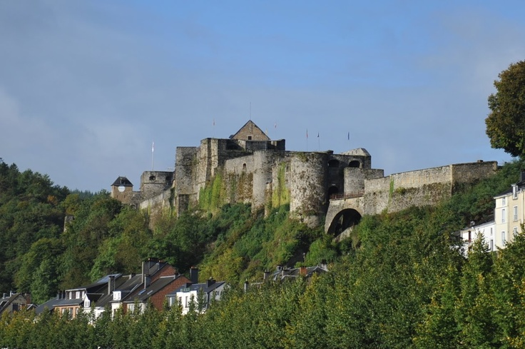 Bouillon Castle - Home of Godfrey, considered founder of the Knights Templar