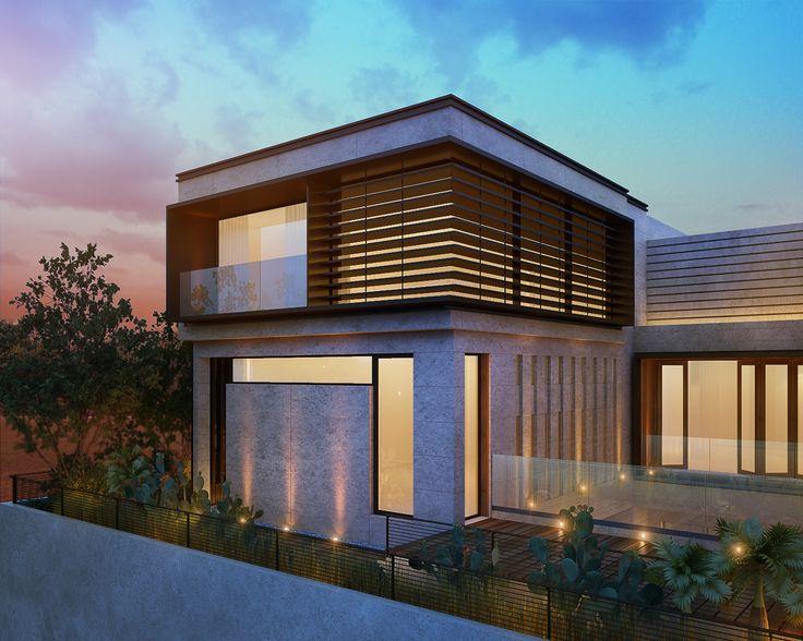 1000 m plot  private villa kuwait  Instagram