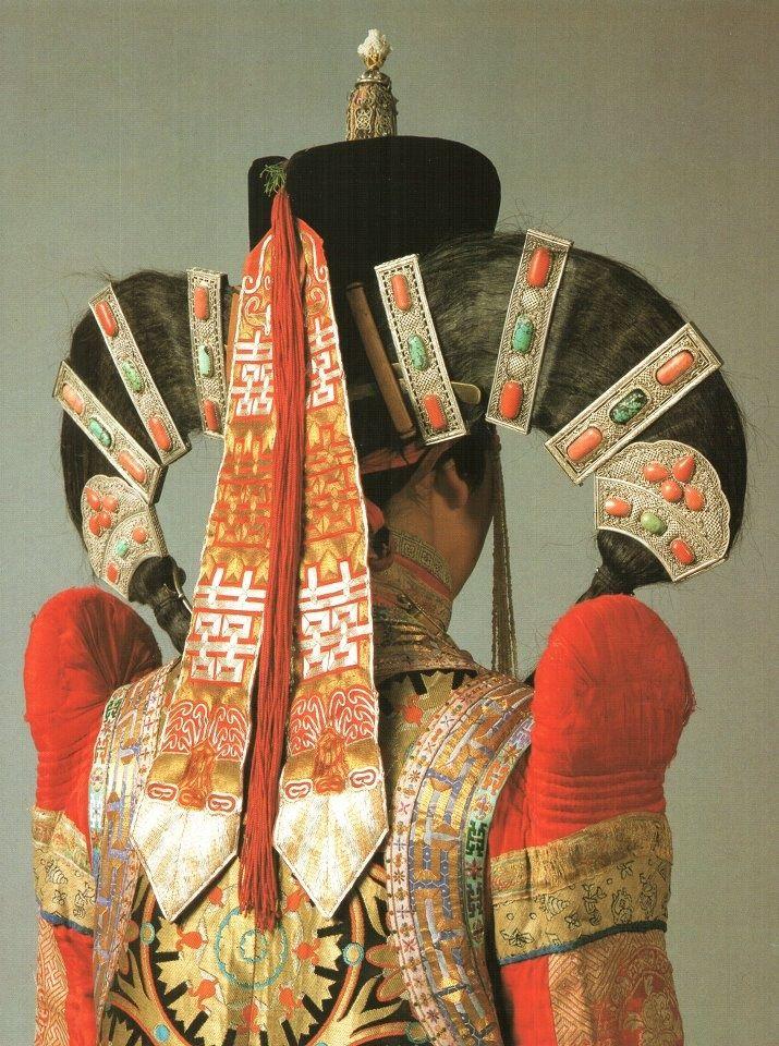 haute couture tribale - Mongolie