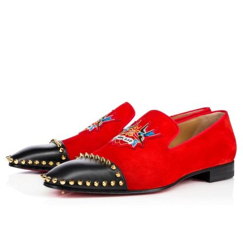 Chaussures homme - Captain Daddy Calf/veau Velours - Christian Louboutin