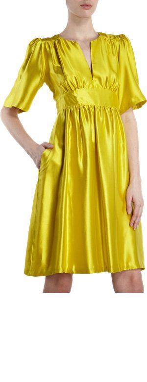 Cynthia Rowley Deep V Midi Dress Sale up to 70% off at Barneyswarehouse.com