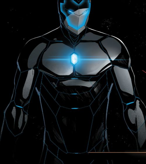 Stealth Mode in Invincible Iron Man (2015) #3 - David Marquez