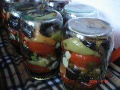 Фото к рецепту: баклажаны с овощами