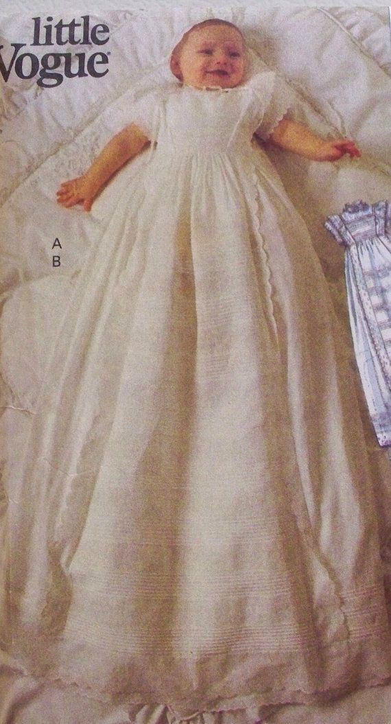 Little Vogue Pattern 8670 Teresa Layman Christening