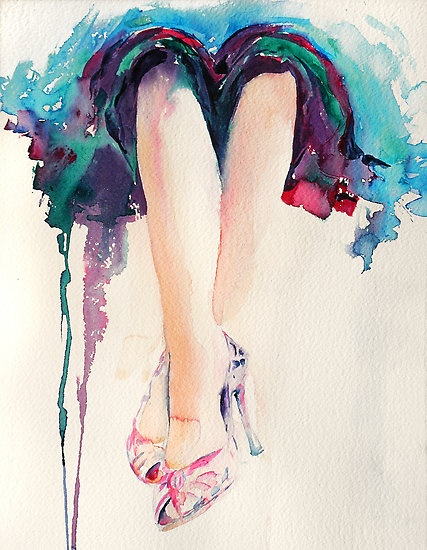 ..draped in watercolor: Artists Things, Canvas Prints, Watercolor Watercolor, Frames Prints, Art Prints, Stephi Butler, Fashion Illustrations, Parties Time, Watercolor Illustrations