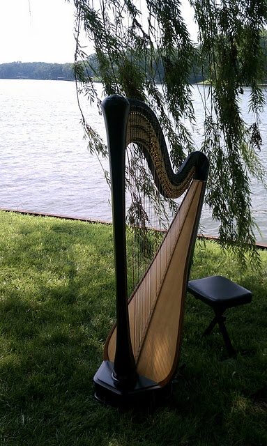 Harp music for a wedding ceremony on the shores of Lake Sara, Effingham, Illinois  http://www.theclassicharpist.com