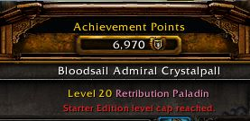 Today 22:00 UTC 7k Achievement Points on F2P party on Maghteridon EU and you're all invited! #worldofwarcraft #blizzard #Hearthstone #wow #Warcraft #BlizzardCS #gaming