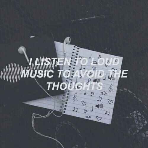 Imagen de music, grunge, and thoughts