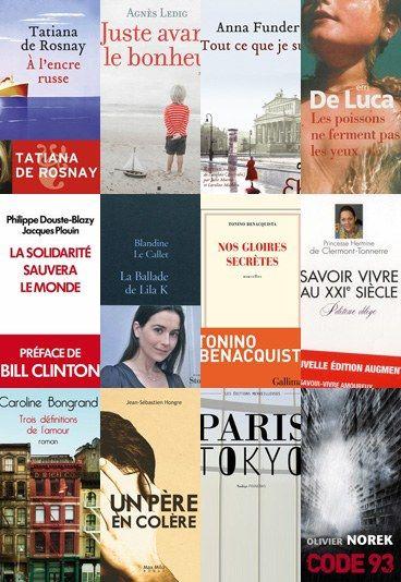 Livres à lire du printemps littéraire - quel roman 2013 on a aimé?