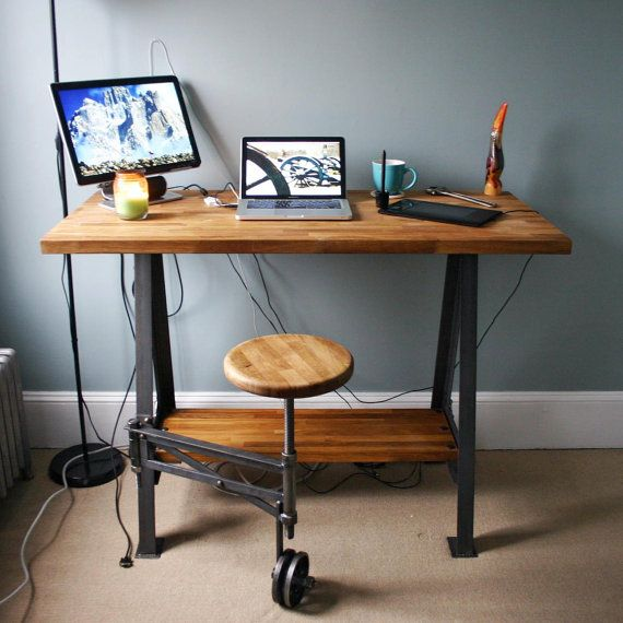 Friday Finds Working Trends Into Your Home Decor: 97 Best Reclaimed Wood Desk Images On Pinterest
