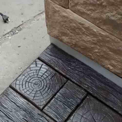 pisos simil madera veredas cemento 100 % quebracko