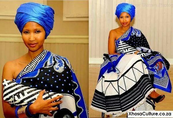 Beautiful xhosa lady