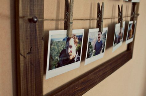 1000 ideen zu w scheklammer bilderrahmen auf pinterest bilderrahmen und rustikale bilderrahmen. Black Bedroom Furniture Sets. Home Design Ideas