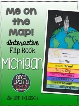 Me on the Map - Michigan!