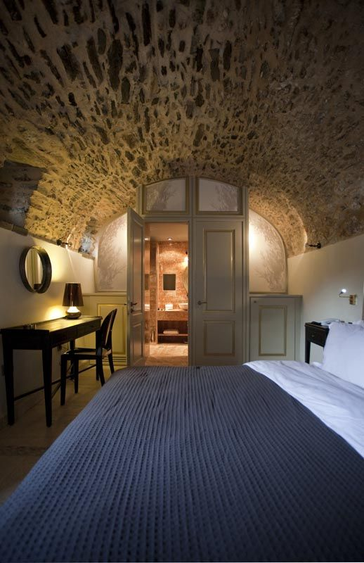 Byzantine Suite at the Kinsterna Hotel & Spa in Monemvasia, Greece