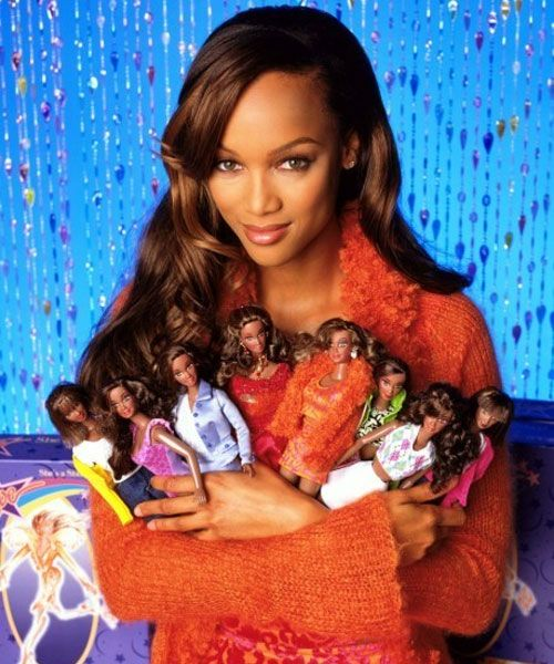 Tyra Banks x Barbie makes me think of that movie she was in...Life Size wasn't it?