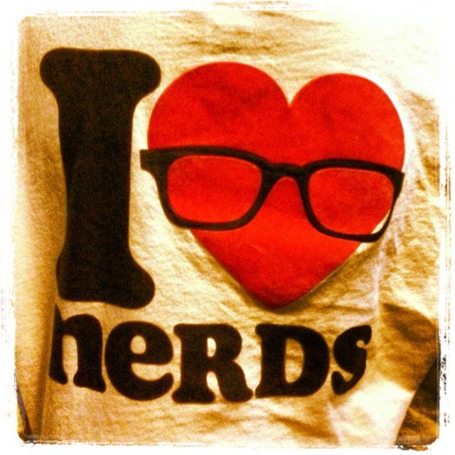 I heart nerds!