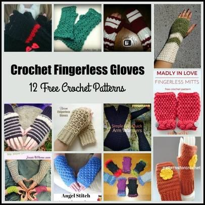 385 Best Hand Warmers Crochet Images On Pinterest Fingerless