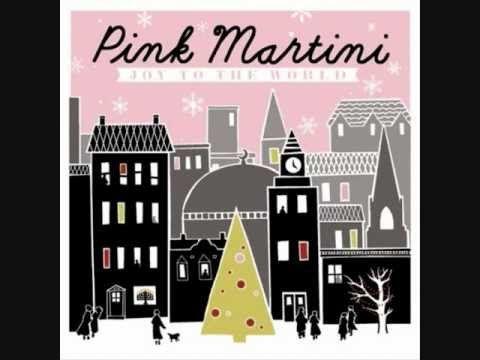 Pink Martini Santa Baby (with lyrics)
