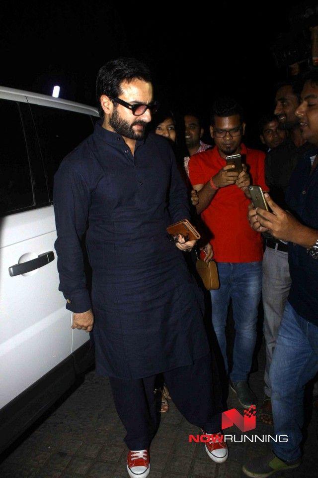 Saif Ali Khan snapped post 'Danga'l screening at PVR