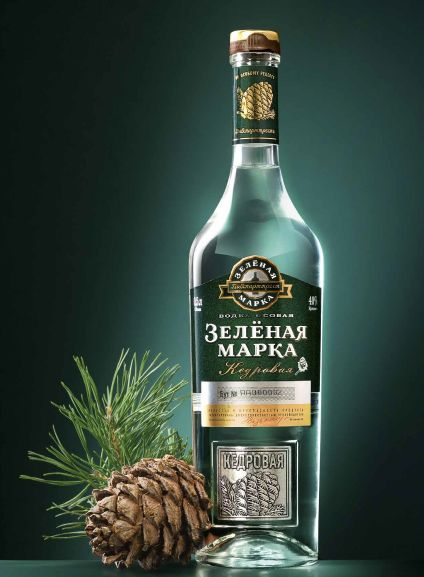 """Vodka """"Zelyonaya Marka"""""""