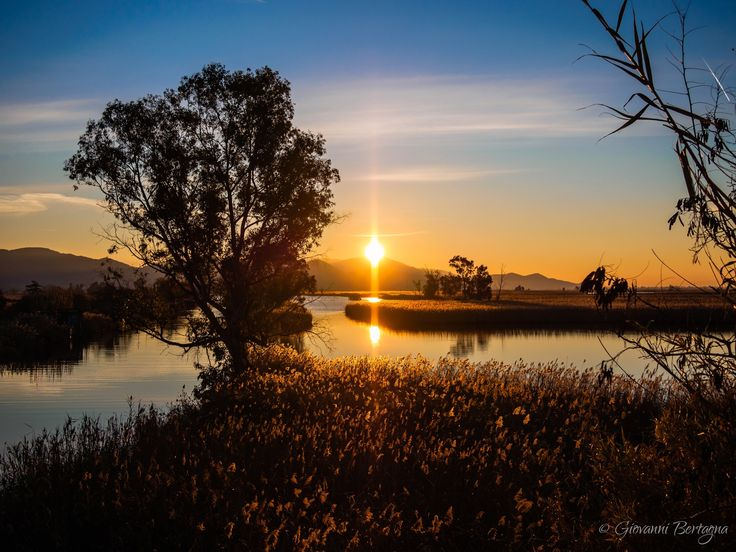 Sunrise in the ditch Burlamacca - My Blog: www.bertagna.it