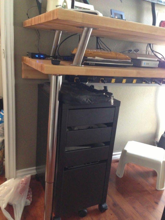 38 best DIY standing desk images on Pinterest : 461d8d4403a20c748325900370abfd3a hackers ikea standing desks from www.pinterest.com size 688 x 918 jpeg 70kB