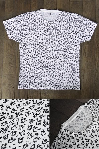 Hidden Folks - All Over-print T-shirt