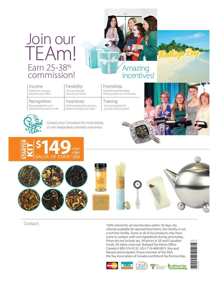 Fall & Winter Catalog Join me in Tea!