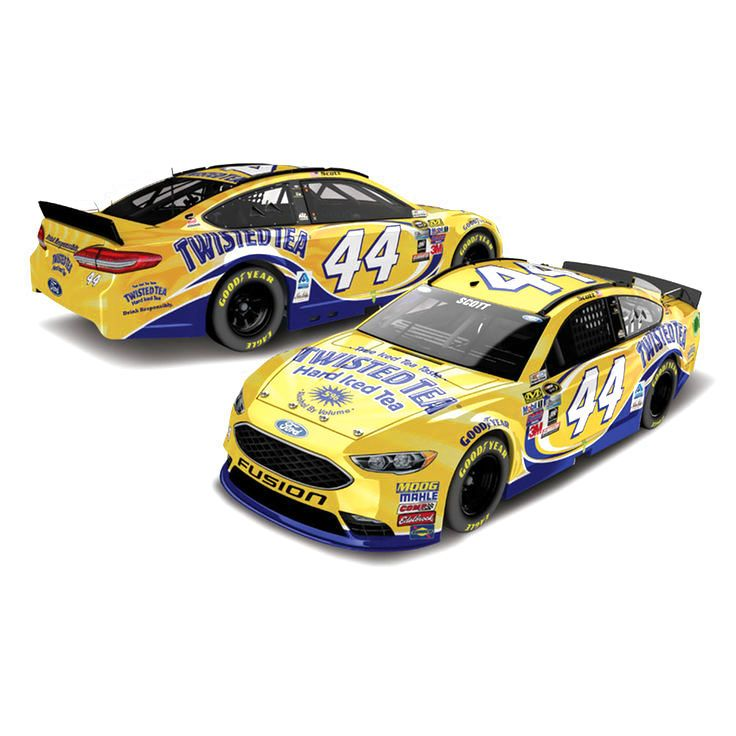 Brian Scott Action Racing Twisted Tea 2016 Regular Paint 1:64 Die-Cast Ford Fusion - $8.99