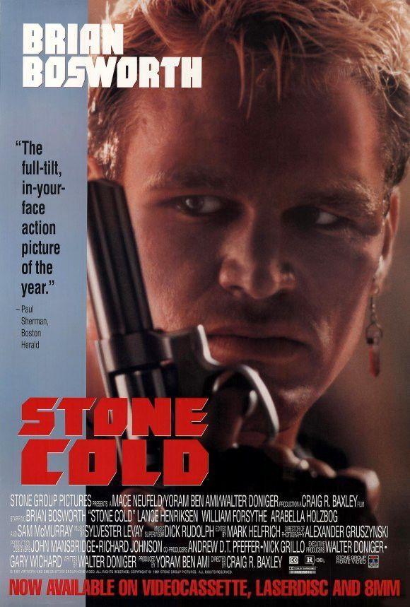 Stone Cold 27x40 Movie Poster (1991)
