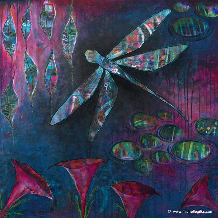 Dragonfly Dreaming - Michelle Gilks
