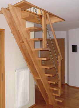 die besten 17 ideen zu bodentreppe auf pinterest dachzimmer loft gel nder und kleine h tten. Black Bedroom Furniture Sets. Home Design Ideas