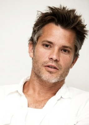 Timothy Olyphant.... love the salt and pepper hair..