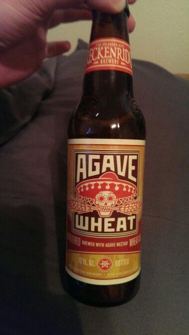 Agave Wheat Ale, Breckenridge Brewery,  Denver Colorado.