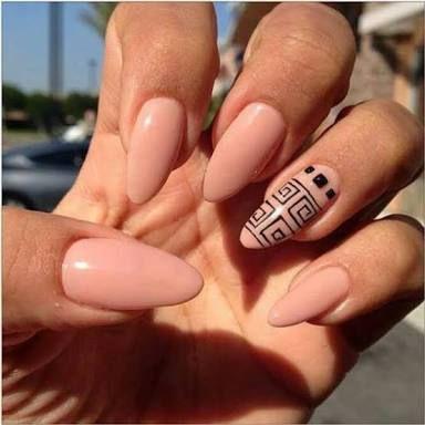 Resultado de imagen para decoracion de uñas ovaladas