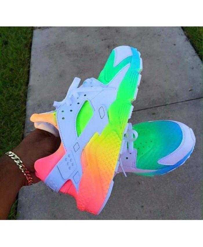 Gris Loup Huarache Arc CielCheap Chaussure Nike En pzMSUVq