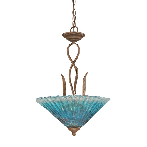 The Filament Design Concord 3 Light Ceiling Bronze Incandescent Pendant Provides A Contemporary Style To Your Decor This Accommodates Three