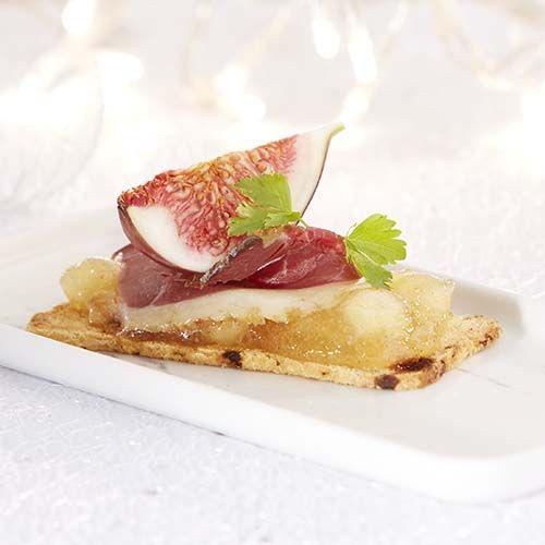 Rozijnentoastjes met eendenborst en vijgen - Colruyt Culinair !
