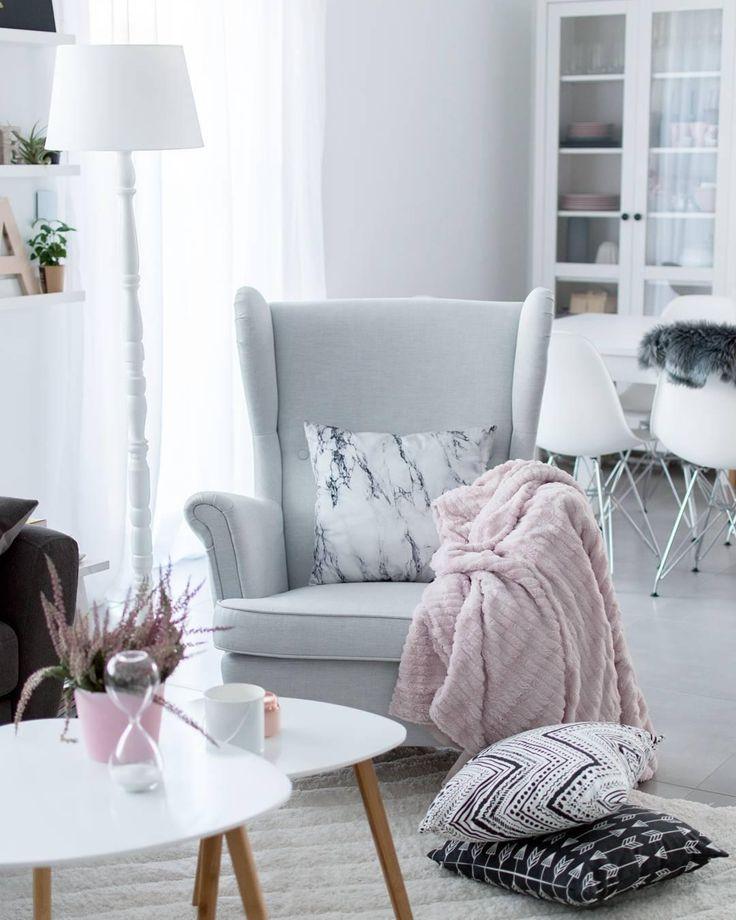 Die besten 25+ Skandinavische kissen Ideen auf Pinterest - design beistelltische metall tote ecken raum