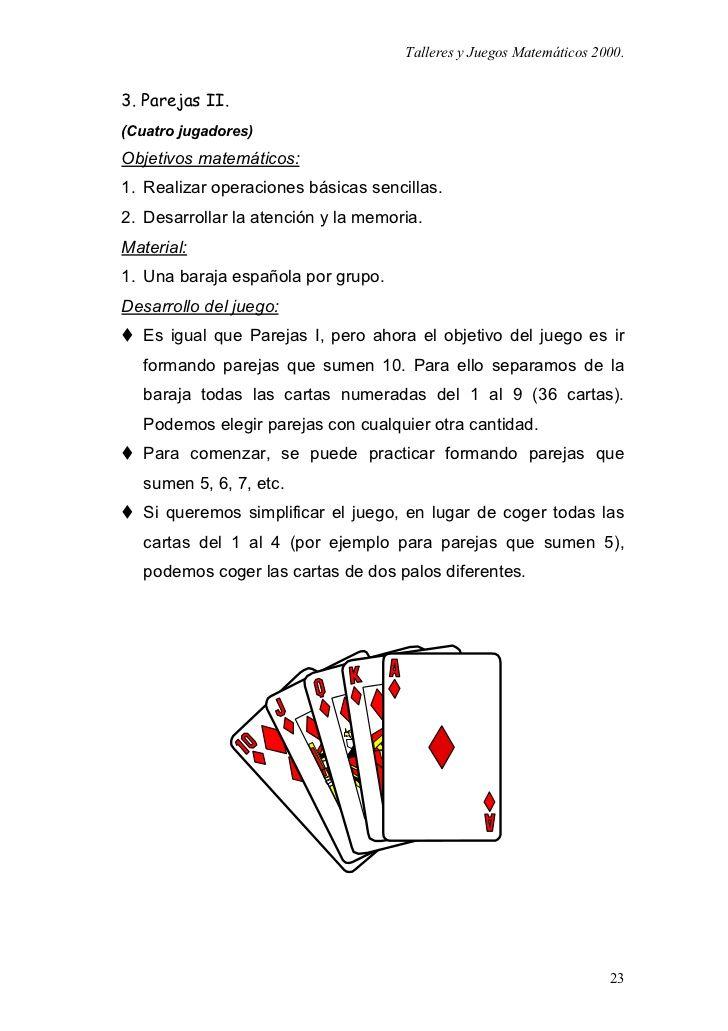 Juegos Matematicos Para Primaria Y Secundaria Neuris