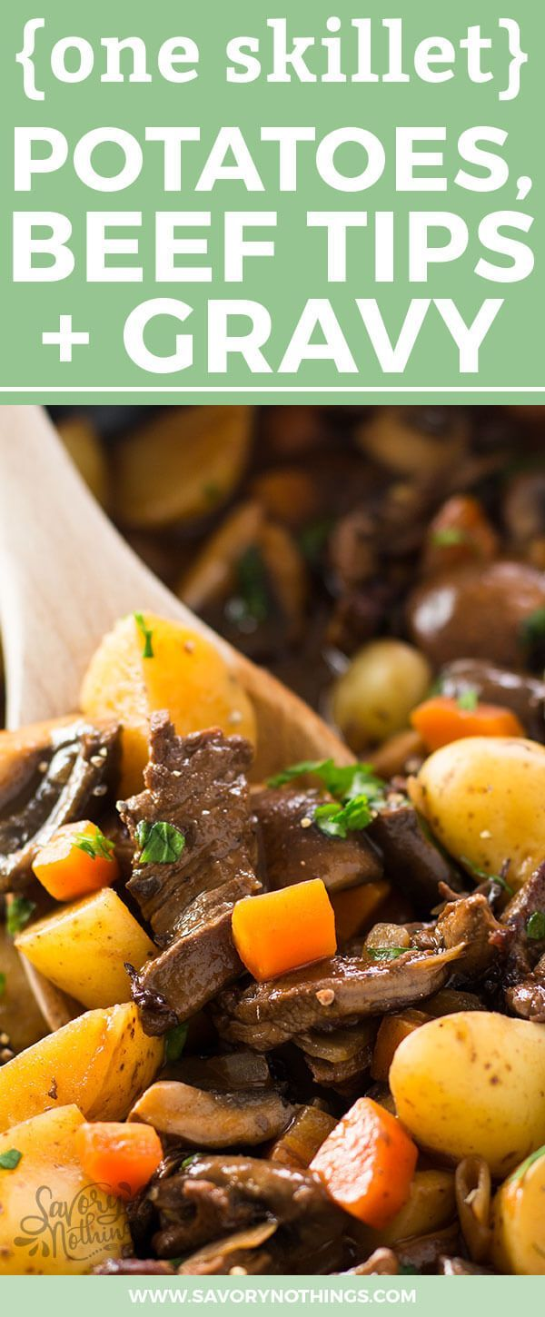 177 best healthy comfort foods images on pinterest healthy an easy one skillet beef tips and gravy recipe completely made on the stovetop forumfinder Image collections