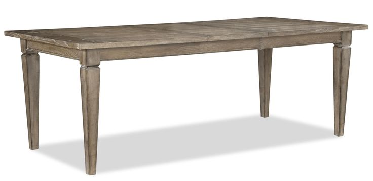 Brownstone Village Rectangular Leg Table By Legacy Classic
