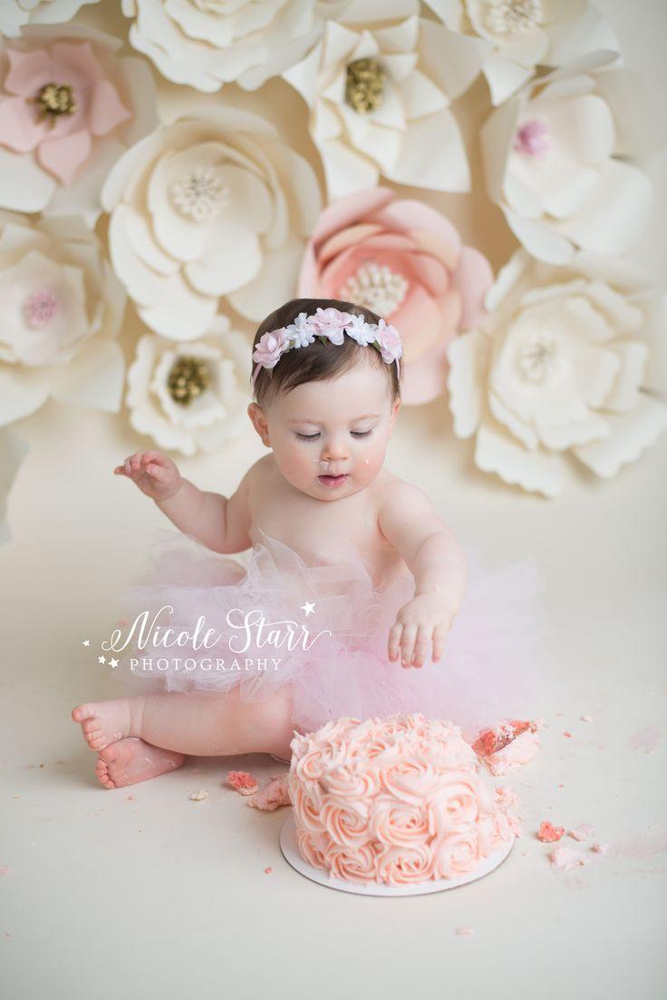Baby Girl Cake Smash Photography