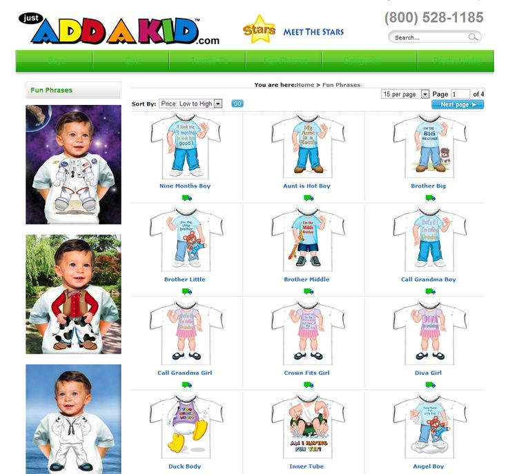 Fun kids tee shirts for all ages and sizes. Cool kids T shirts for all occasions     http://www.justaddakid.com