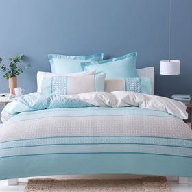 Ava Quilt Cover Set - Queen Bed