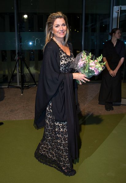 Queen Maxima of the Netherlands arrives for the 10th International Frans Liszt Piano Competition in Utrecht, The Netherlands. 08 November 2014
