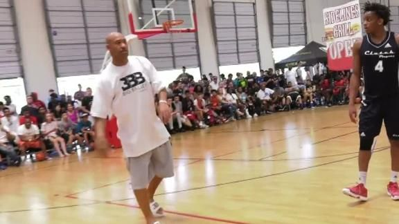 LaVar Ball pulled his Big Ballers AAU team off the court during a game Saturday after he was whistled for a technical foul for arguing a foul call and uttering a profanity toward a referee.  The incident occurred during a playoff game at the Double Pump Best of Summer Tournament in Anaheim,... - #AAU, #Ball, #Forfeits, #Game, #LaVar, #Pulling, #Tech, #TopStories